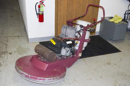 Minuteman Propane Floor Buffer with Kawasaki Engine 27″