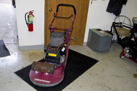 Minuteman Propane Floor Buffer with Kawasaki Engine