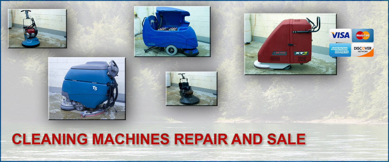 Cleaning Machines Repair and Sale